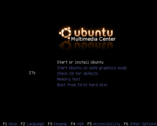 ubuntu media center